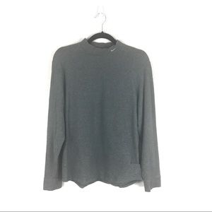 Nike Mock Neck Thick Pullover Long Sleeve Shirt